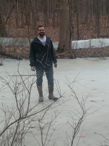 scott on the ice